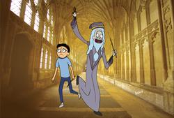 Dumbledore & Harry