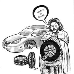 Jon Snow Tires