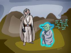 Yoda & Luke