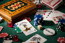 Still Life of Playing Cards