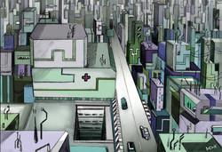 Cyberpunk Shantytown