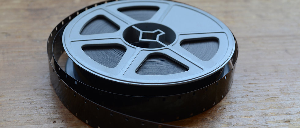 Up to 50ft 16mm cine film transfer