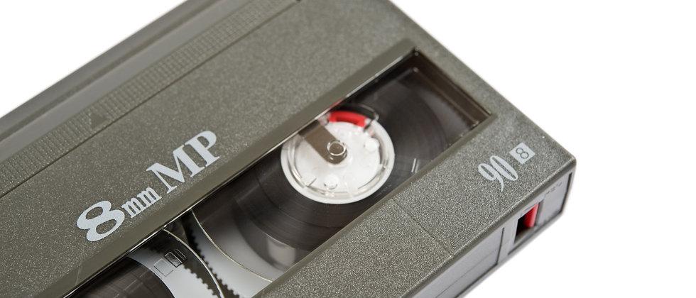 Video8/Hi8 or Digital8 Camcorder Tape transfer