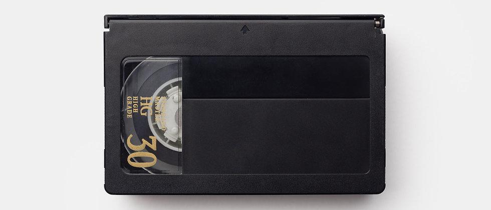 Compact VHS (VHS-C) transfer