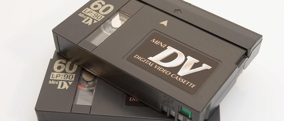 Mini DV/DVCAM Tape transfer