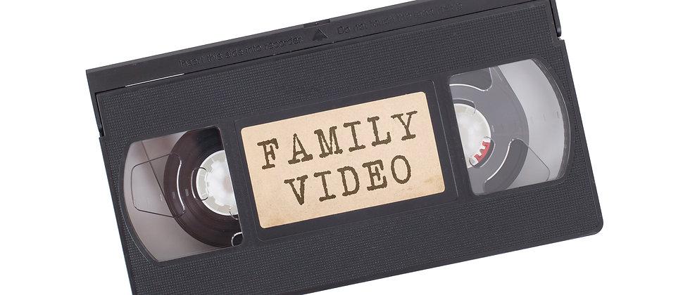 VHS/SVHS transfer