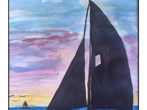 Sailing Rehoboth Bay