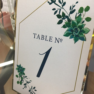 2 layer table number