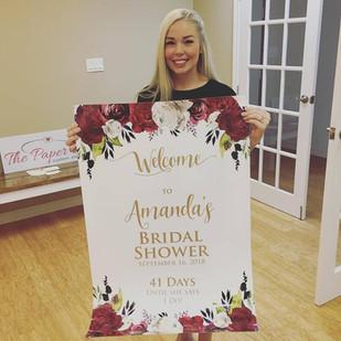 amanda bridal shower