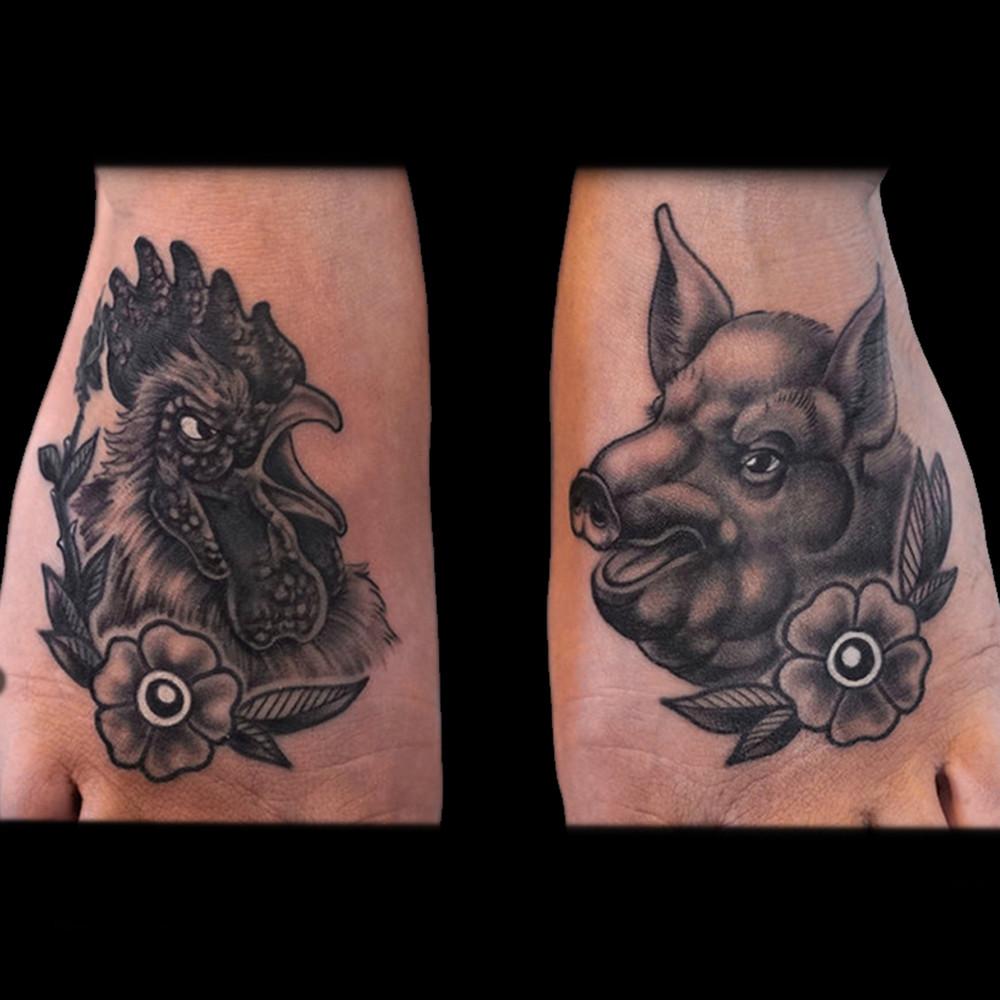 Fullscreen Page | Alonzo Villa | Guru Tattoo San Diego | Portraits ...