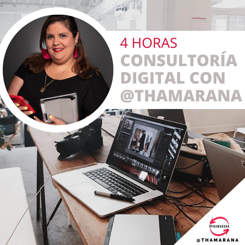 4 HRs CONSULTORÍA DIGITAL con @THAMARANA