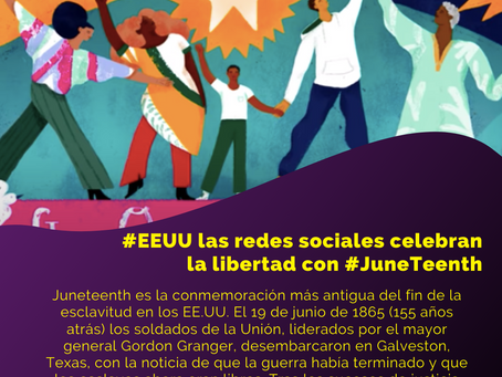 #infoFRIday ON #JUNETEENTH 19JUN info actual de redes sociales, marketing, marcas y el mundo digital