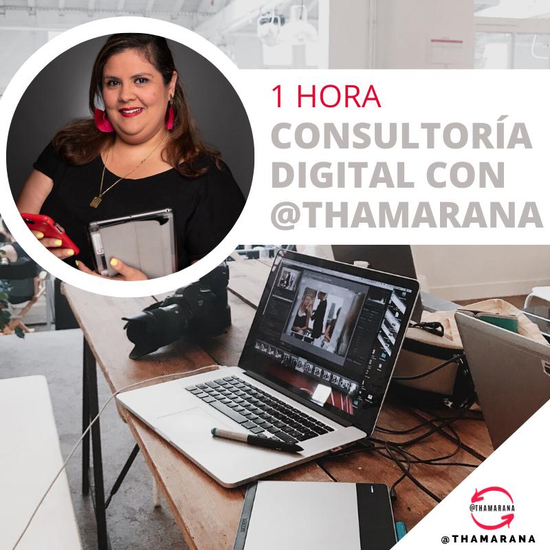 1 HR CONSULTORÍA DIGITAL con @THAMARANA