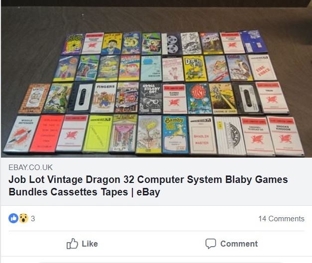 Why I Became a Retro Game Collector (And Paid £270 for a Bundle of Dragon 32 games)