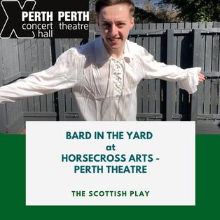 Sunday 1st August | 11.30am Perth, Scotland