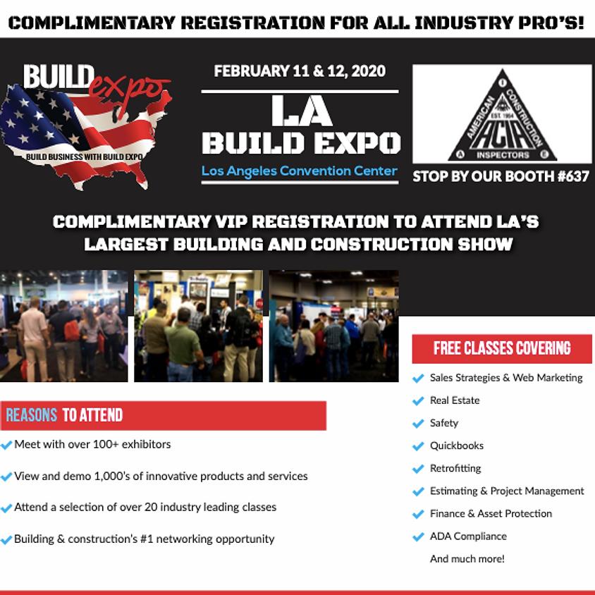 Build Expo - Los Angeles