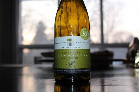 Crisp, Balanced Chardonnay from our Neck of the Woods