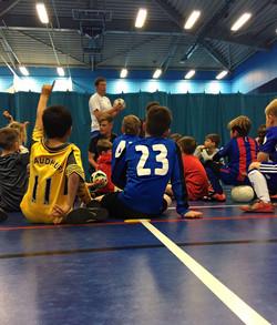 Futsal coaching