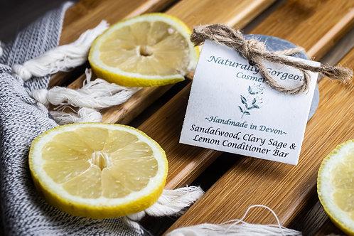 Sandalwood, Clary Sage & Lemon Conditioner Bar