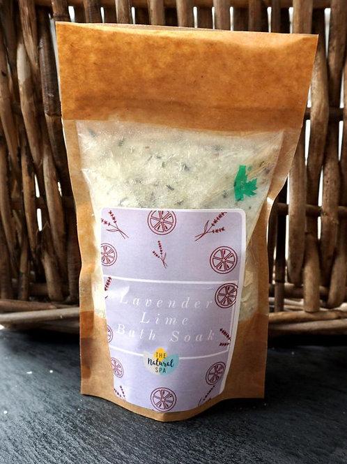 Lavender & Lime Bath Soak