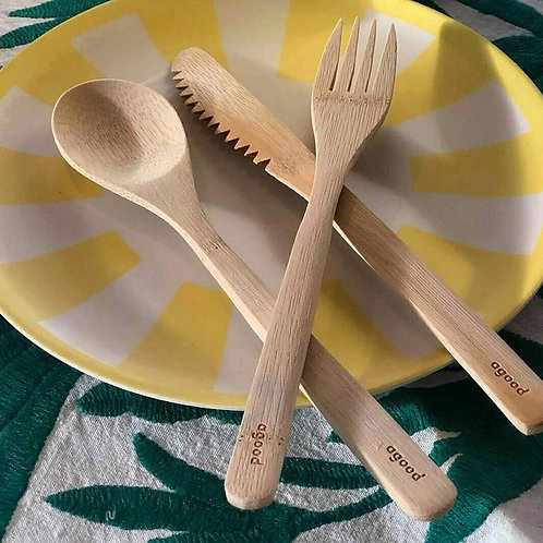 A Good Bamboo Cutlery Set