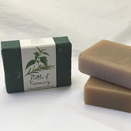 Natural Shampoo Bar Nettle & Rosemary