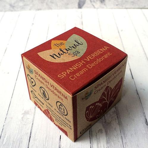 Cream Deodorant- Spanish Verbena