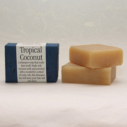 Natural Shampoo Bar Tropical Coconut