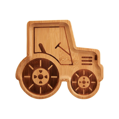 Bamboo Child's Plate Tractor