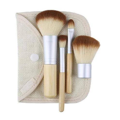 Bamboo Make-up Brushes Mini