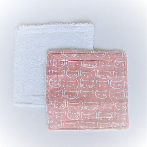 Towelling Reusable Baby Wipes