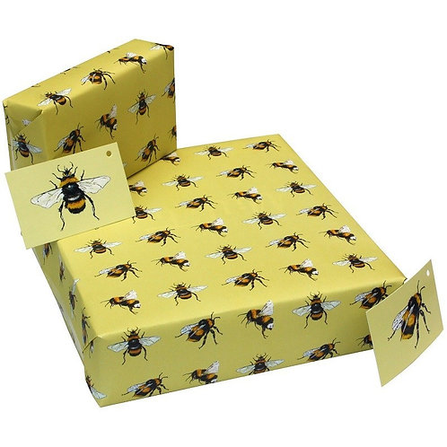 Recycled Gift Wrap-Nature
