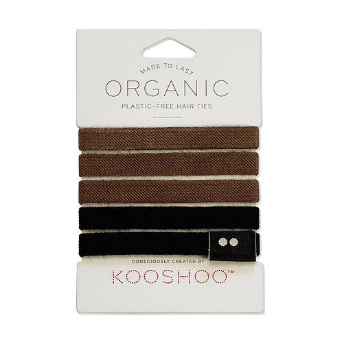 Kooshoo Plastic Free Hair Ties