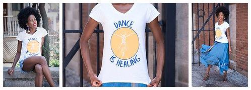 Dance is Healing T-shirt with Logo