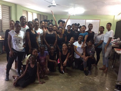Teaching at Montego Bay HS in Jamaica