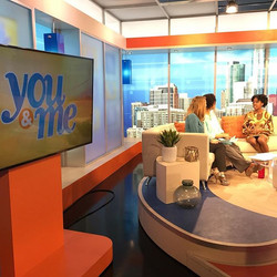 Although I was up at the crack of dawn I had so much fun chatting on WCIU _You & Me_ about my experi