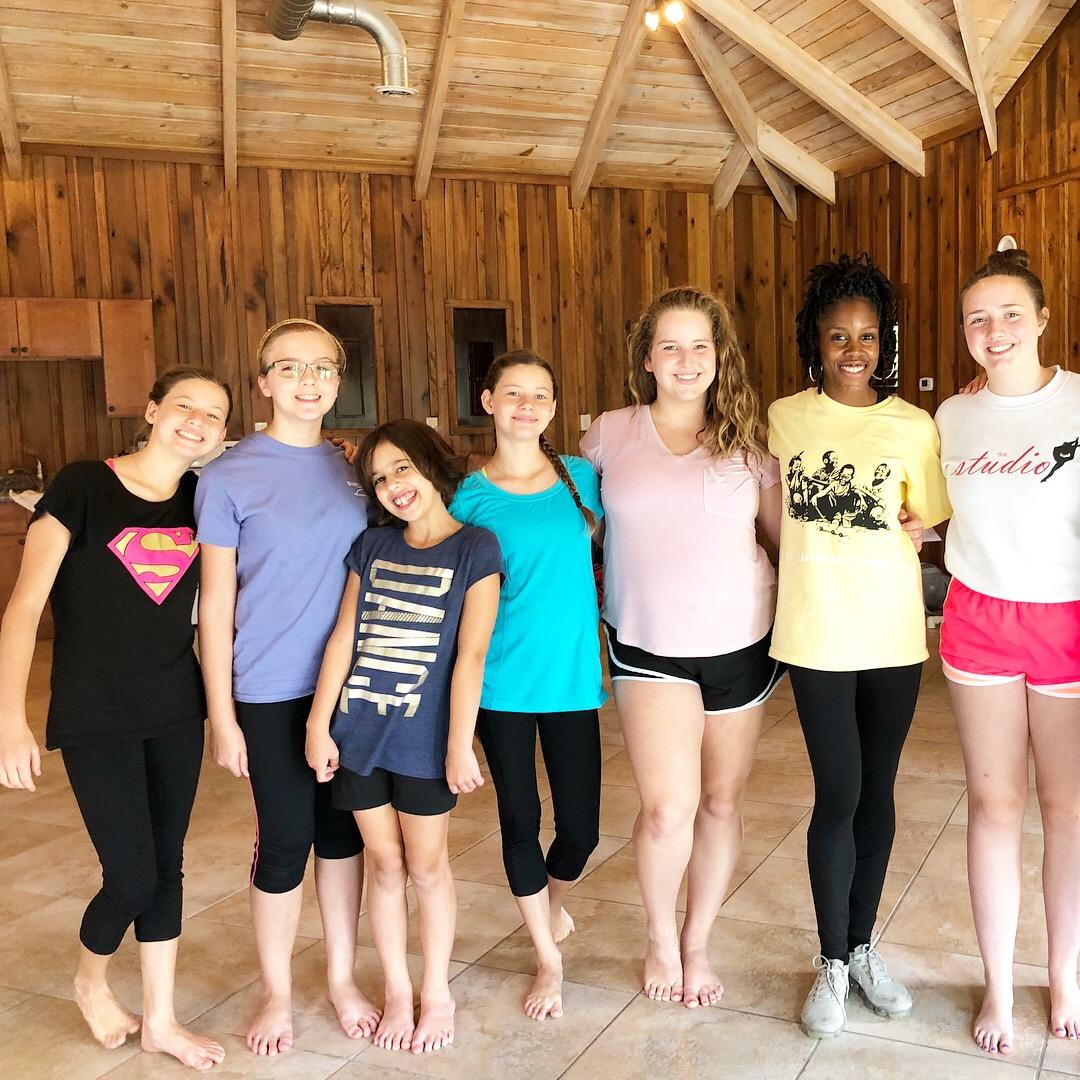 Milk Carton on a String Fundraising Summer Intensive in Georgia (2018)