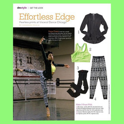 Dance Mag 😎🙏🏾👯 Thank you _dancemagazine and _visceraldancechicago_Photo Credit _qwha