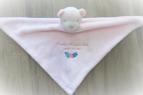 Pink Bear Cuddle Buddy
