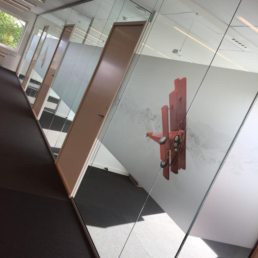 Møterom og kontorer skjermes