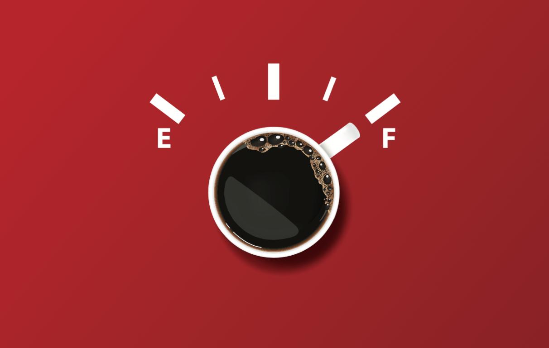 Kaffen og vi er klar