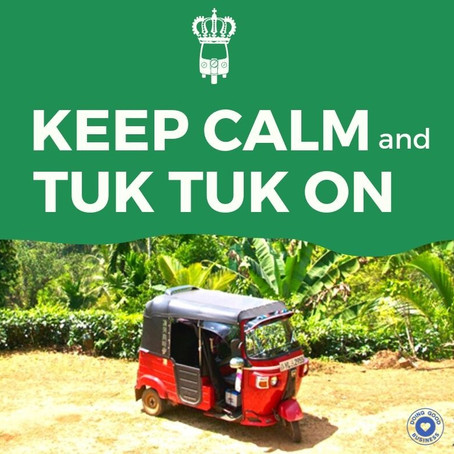 12 More days to go before we embark on our Tuk Tuk Ride of Pride! SEPTEMBER 2019