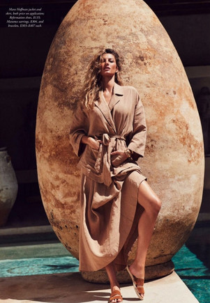 Gisele+Bundchen+by+Nino+Munoz+for+Harper