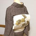 着物、小紋、名古屋帯