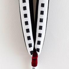 Ribbon 2tone・白&黒