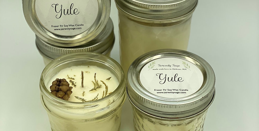 Yule Fraser Fir Soy Candle