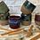 Thumbnail: 10oz Handmade Pottery Wine Tumbler Spy Candle