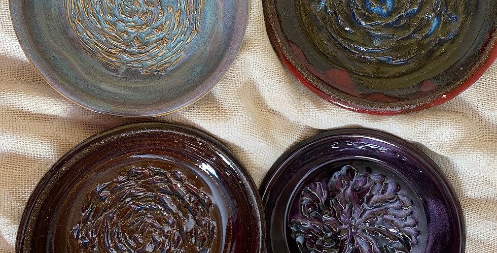 Handmade Pottery Garlic Grater