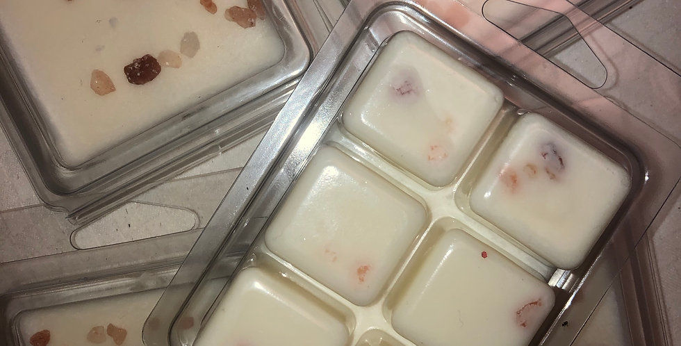Essential Oil Soy Wax and Himalayan Salt Melts