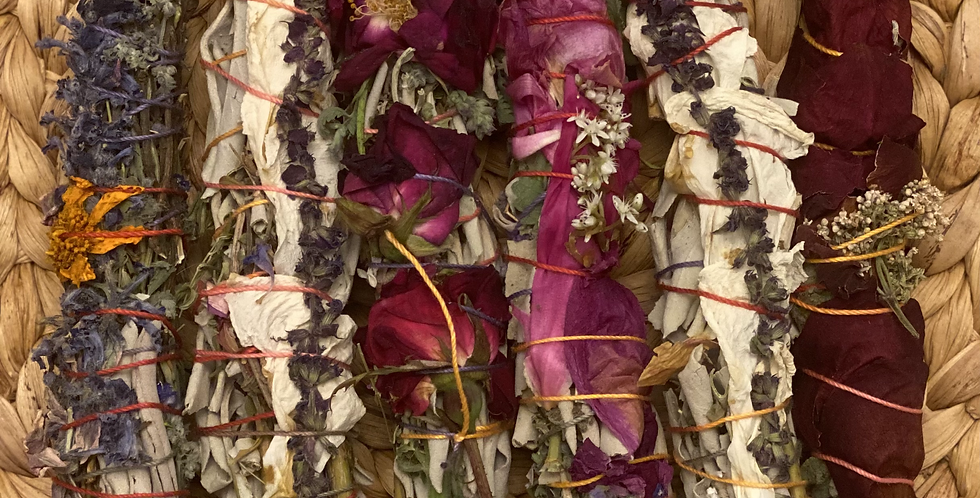 Spring Goddess Herbal Smudge Stick